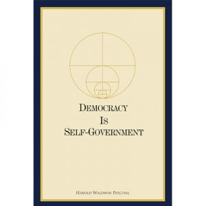 كتاب Democracy Is-Government Softcover (240 pp.)