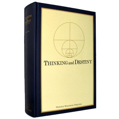 Thinking and Destiny Hardcover book (1080 pp.)